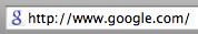 Google favicon uus
