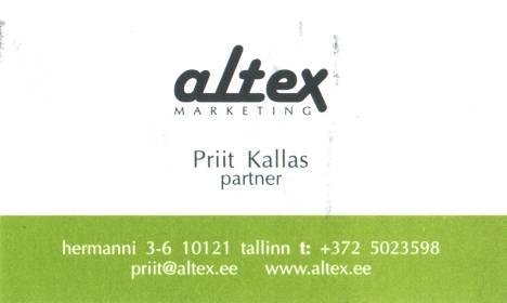 Priit Kallas Altex